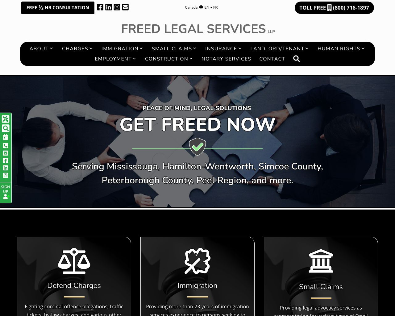 Website: Freed Legal Services LLP