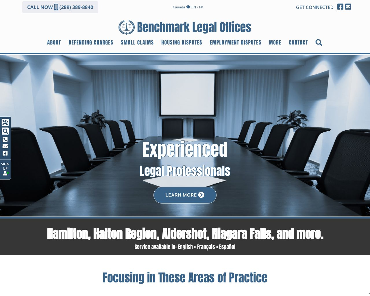 Website: Benchmark Legal Offices