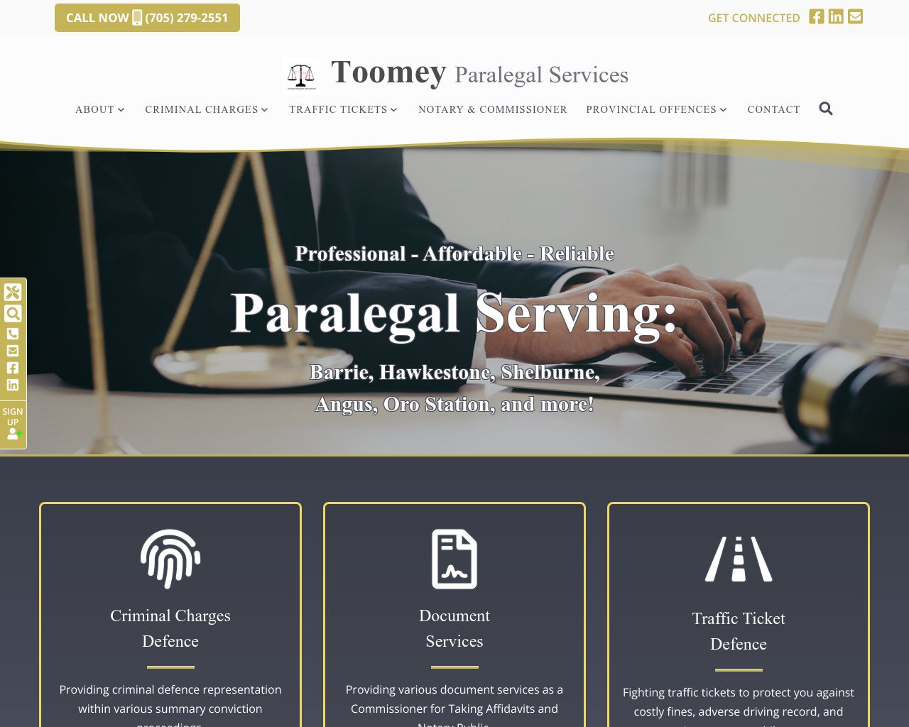 Website: Toomey Paralegal Services