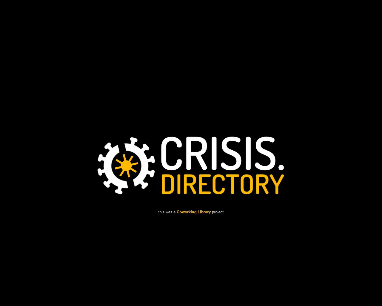 crisis-directory