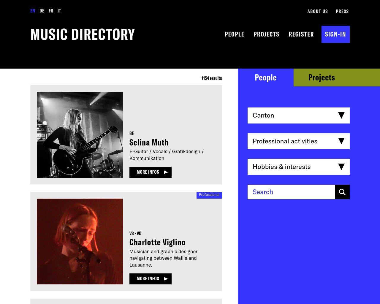 music-directory