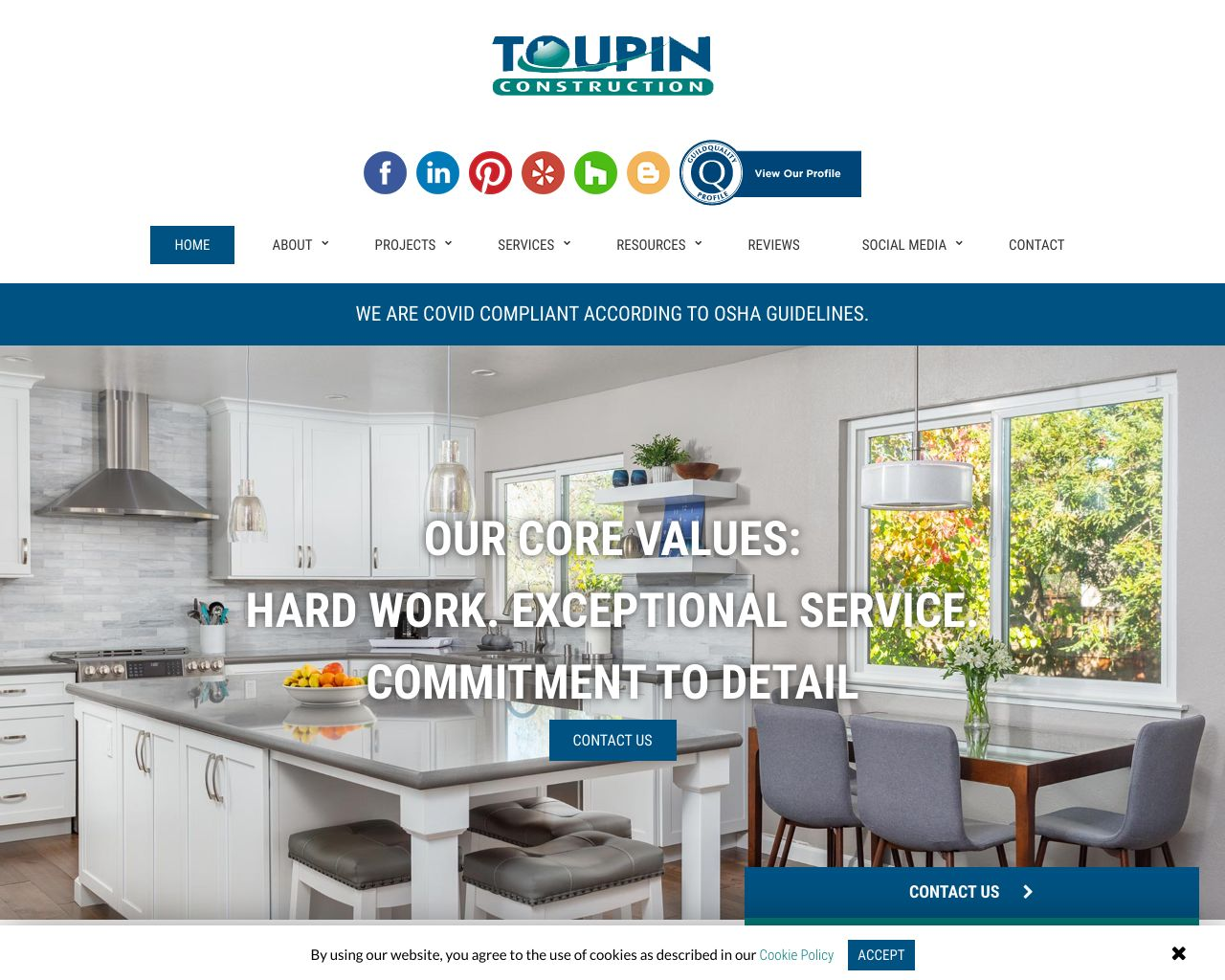 Toupin construction remodeling contractor diamond certified toupinconstruction malvernweather Image collections