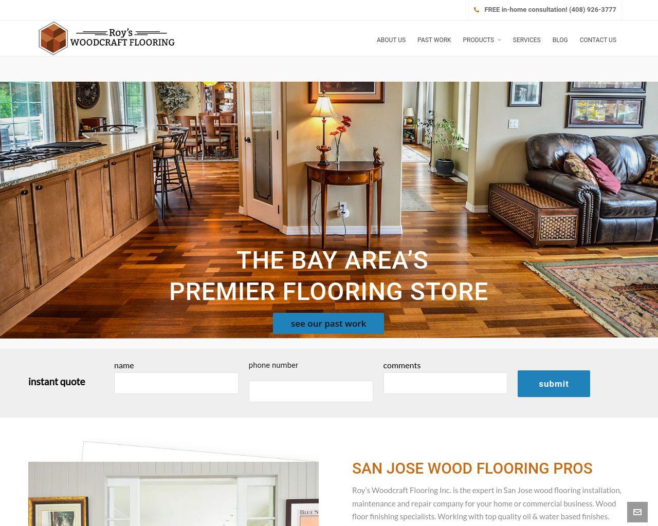 Roy S Woodcraft Flooring Inc Diamond Certified