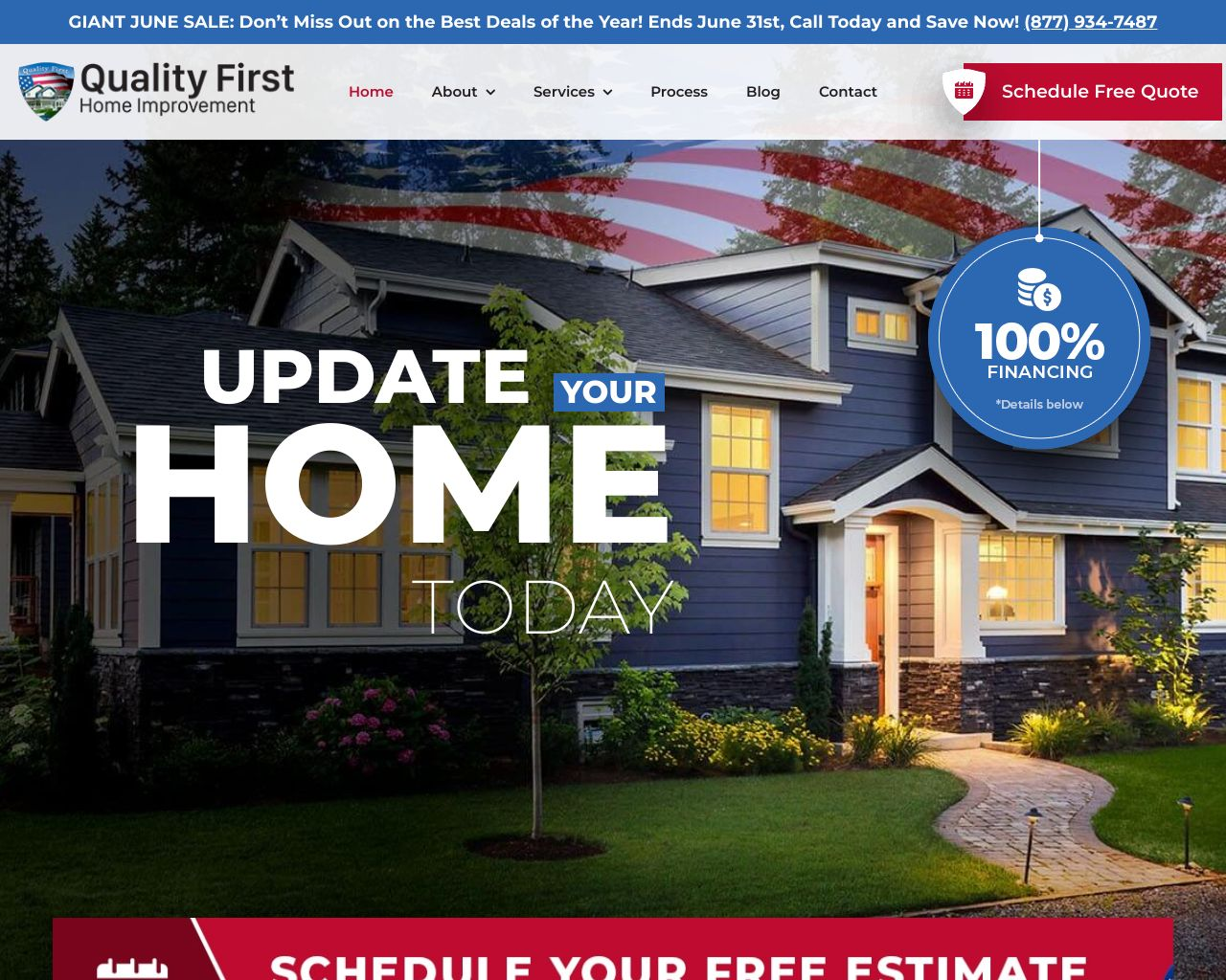 Quality First Home Improvement Inc Diamond Certified