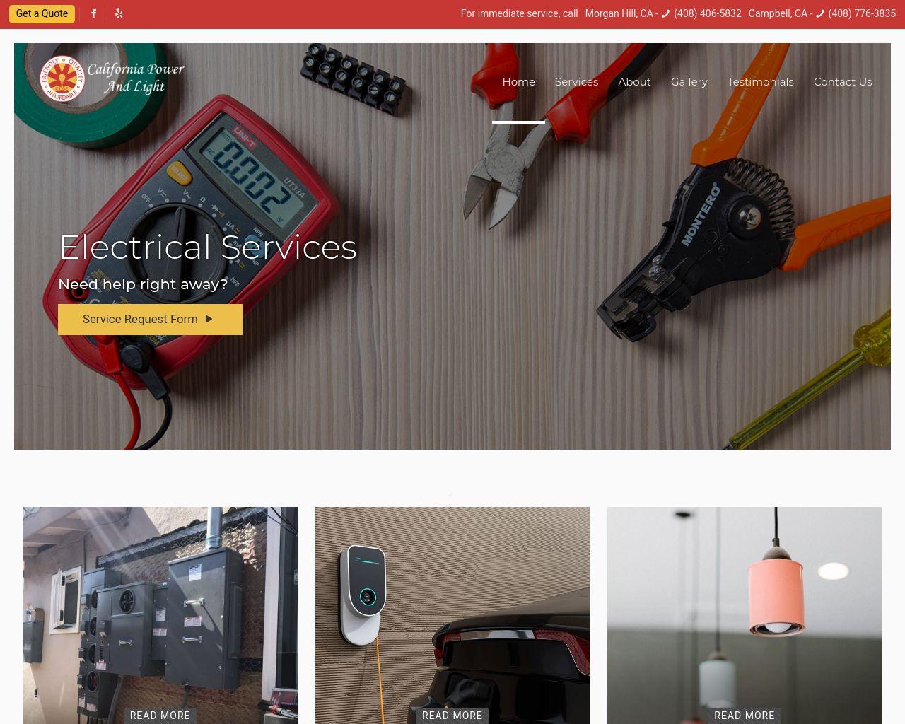 California Power And Light Diamond Certified