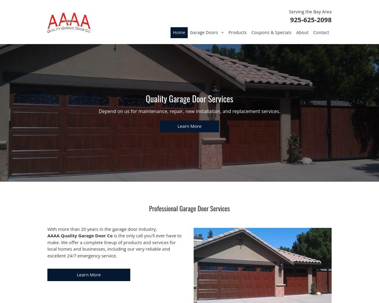Aaaa Quality Garage Door Co Diamond Certified Garage Doors