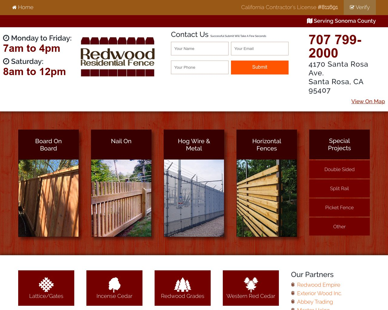 Redwood Residential Fence Company   Diamond Certified