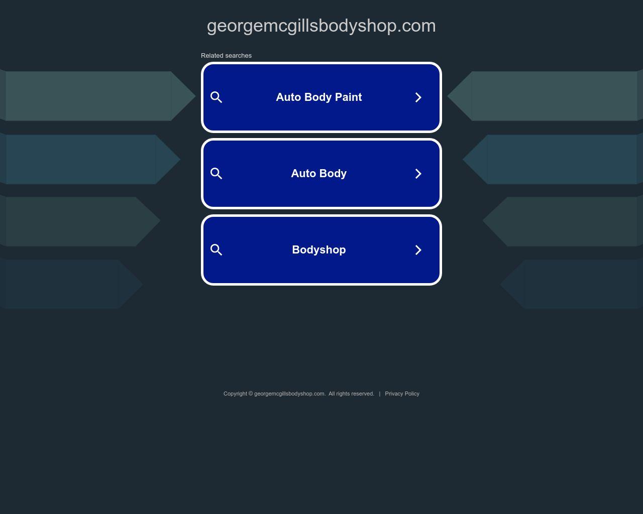 George McGill\'s Body Shop | Diamond Certified | Full-Service Body Shop