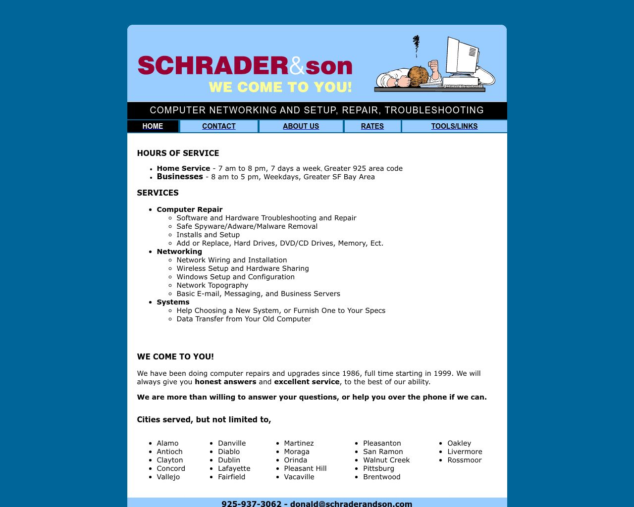 Schrader Son Computer Hardware Repair Diamond Certified - Area code 937