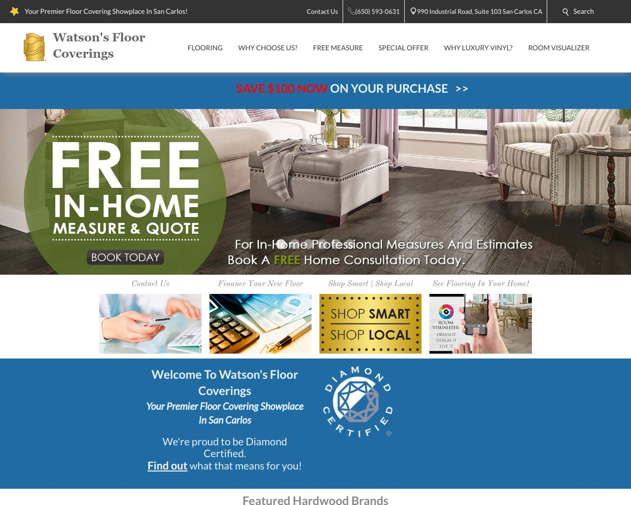 Watson S Flooring Diamond Certified