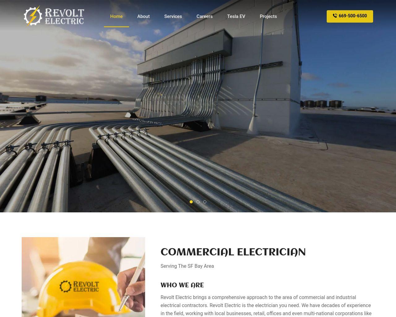 Revolt Electric | Lighting, Panel Upgrades, Solar | Diamond Certified