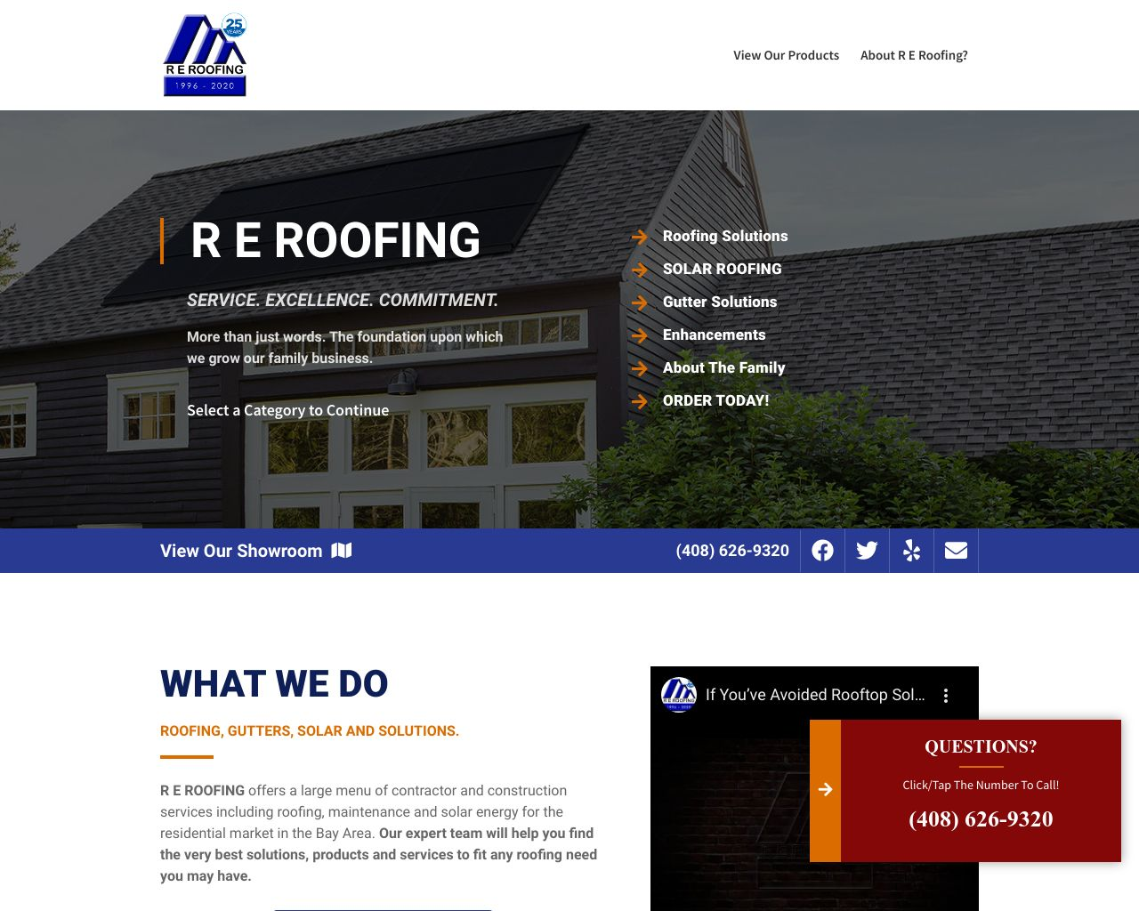 R E Roofing And Construction Inc Diamond Certified