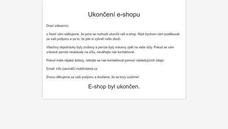 MobilniStore.cz