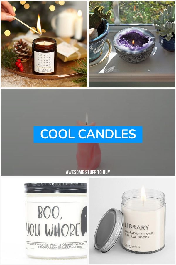 Cool Candles // Awesome Stuff to Buy