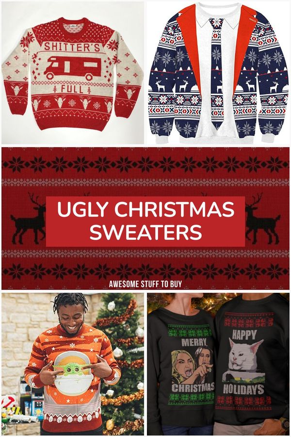 Ugly Christmas Sweaters // Awesome Stuff to Buy