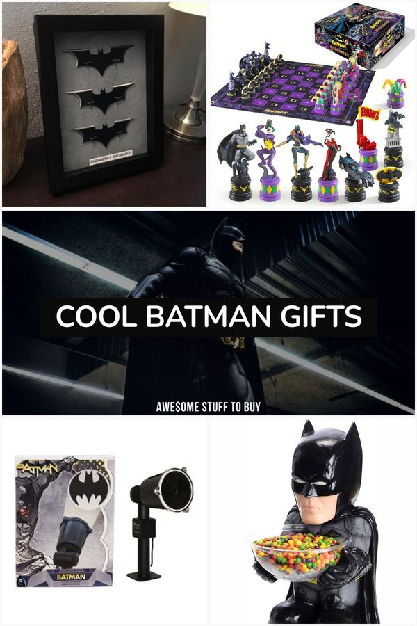 Batman Gifts // Awesome Stuff to Buy