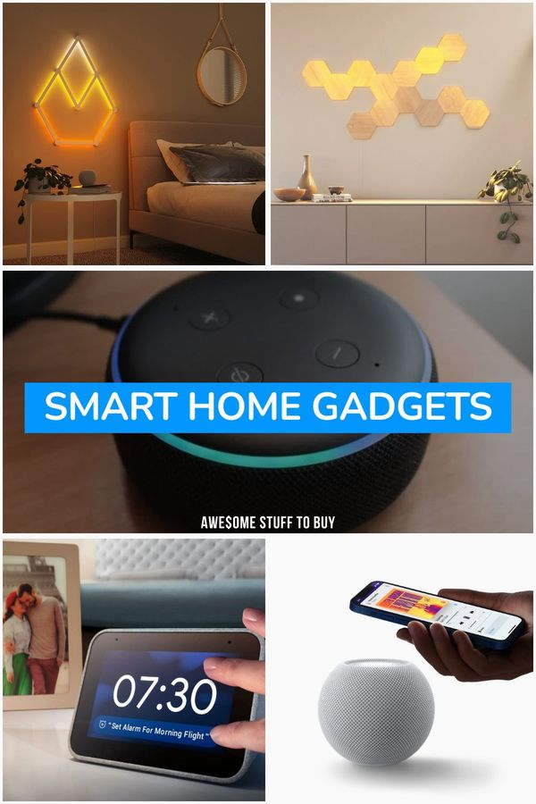 Smart Home Gadgets // Awesome Stuff to Buy