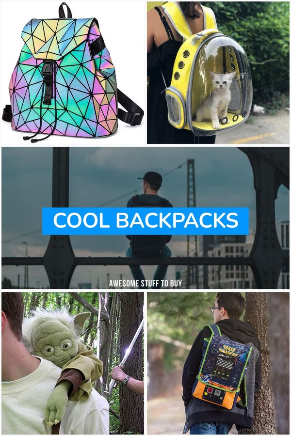 Cool Backpacks // Awesome Stuff to Buy
