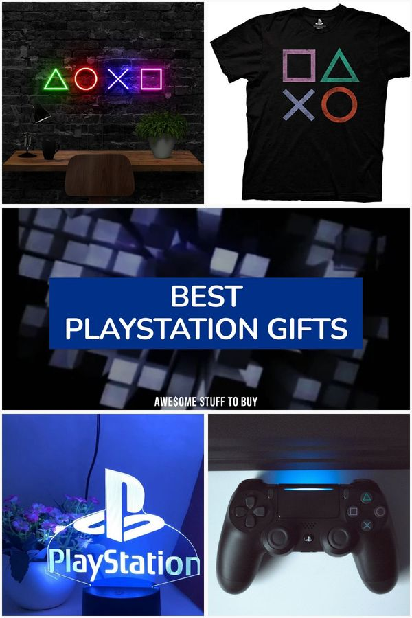 Playstation Gifts // Awesome Stuff to Buy