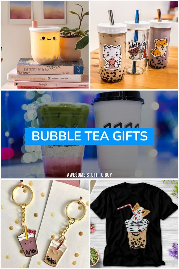 Bubble Tea Gifts // Awesome Stuff to Buy