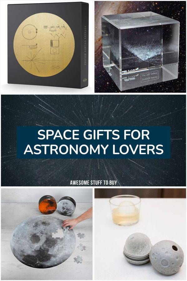 Space Gifts // Awesome Stuff to Buy