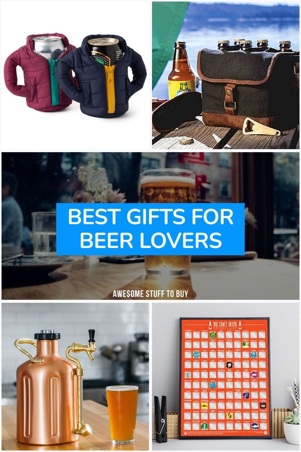 Gifts for Beer Lovers // Awesome Stuff to Buy