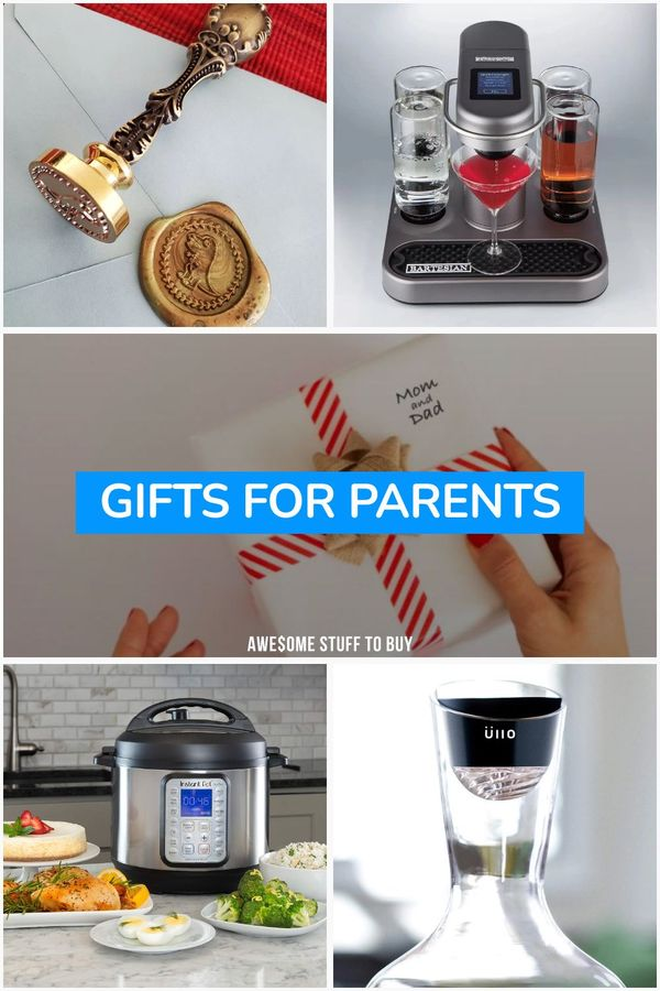 Gifts for Parents // Awesome Stuff to Buy