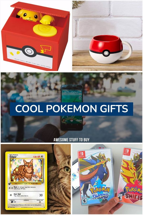Cool Pokemon Gifts // Awesome Stuff to Buy