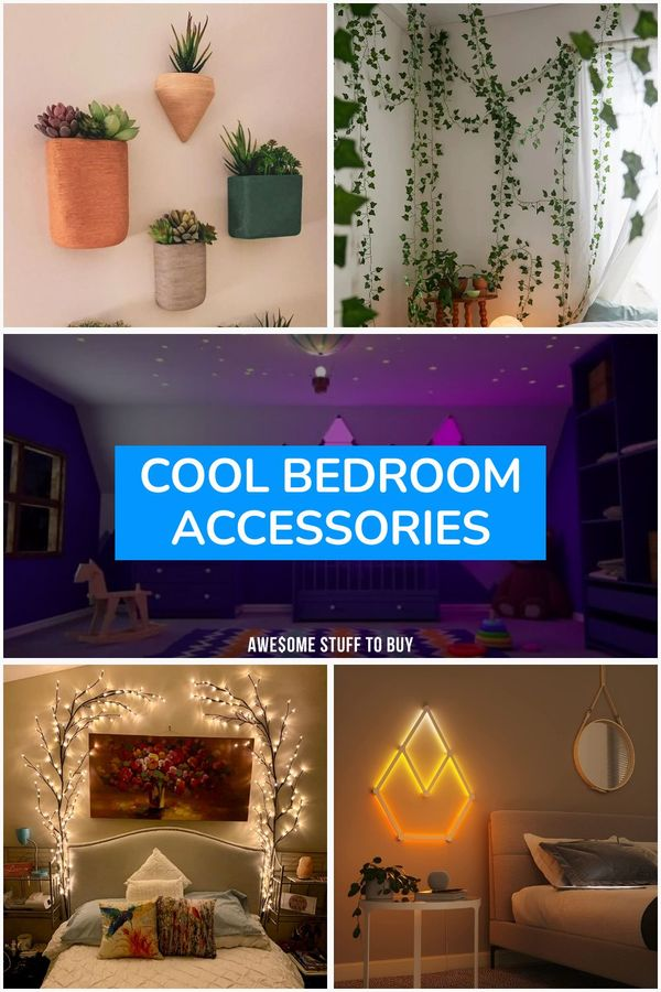 Cool Bedroom Accessories // Awesome Stuff to Buy