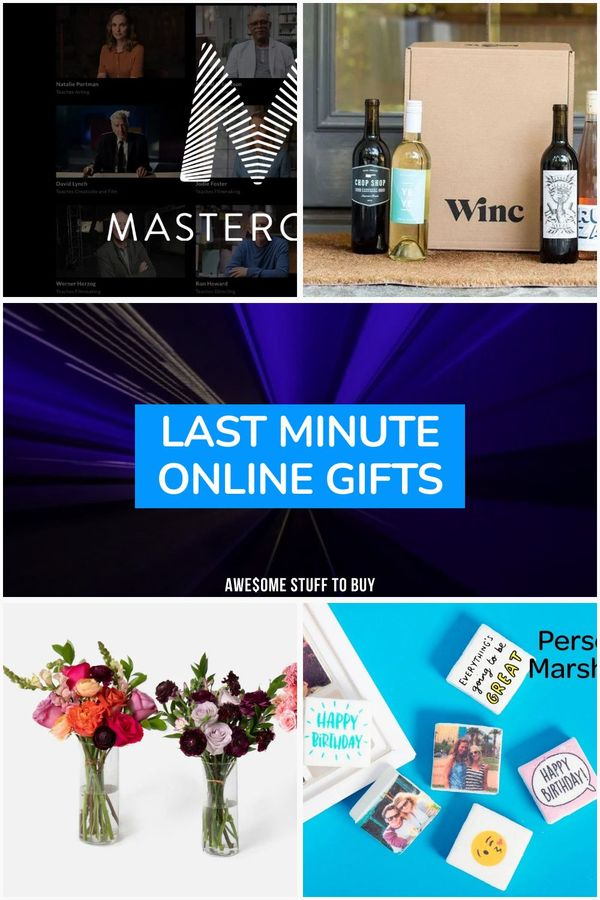 Last Minute Online Gifts // Awesome Stuff to Buy