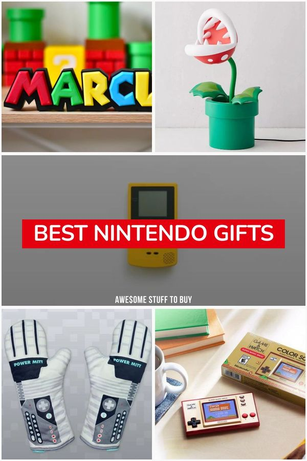 Nintendo Gifts // Awesome Stuff to Buy